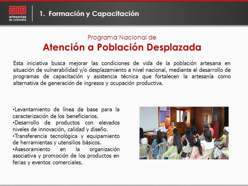 Atención a Población Desplazada