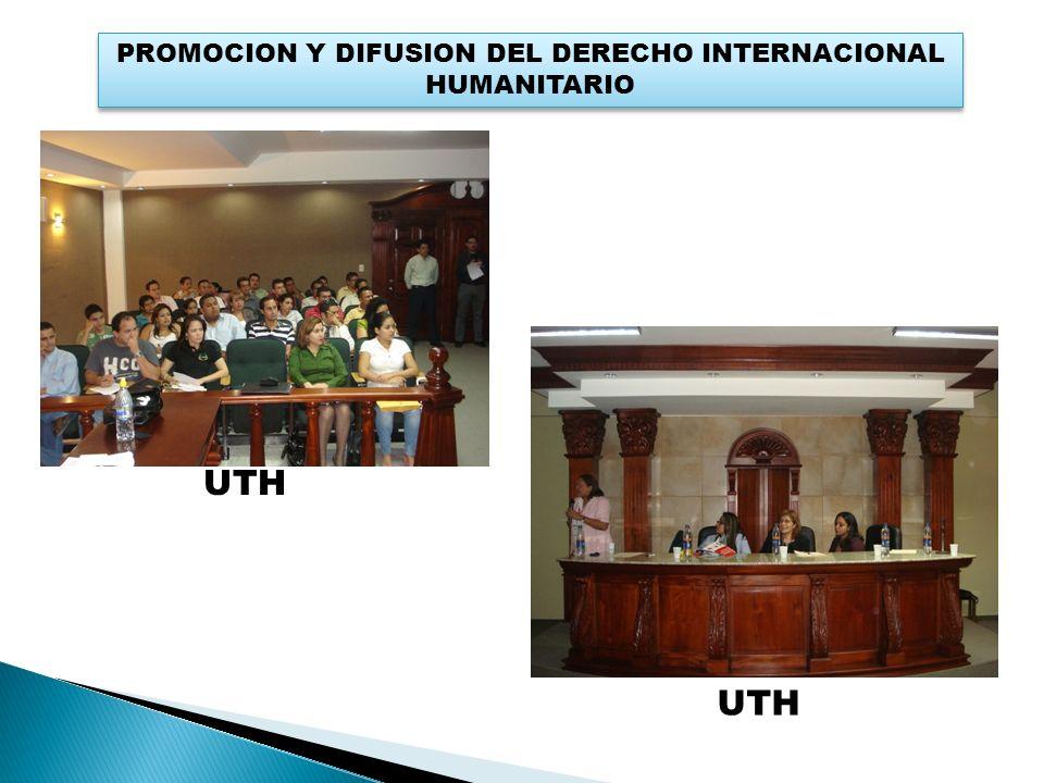 PROMOCION Y DIFUSION DEL DERECHO INTERNACIONAL HUMANITARIO