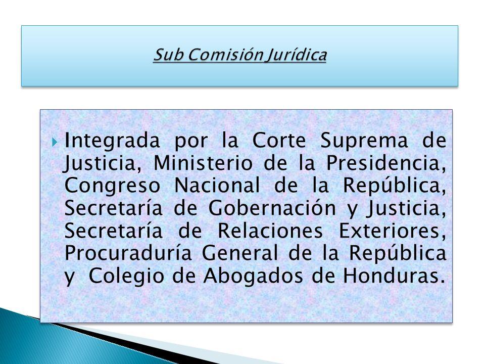 Sub Comisión Jurídica