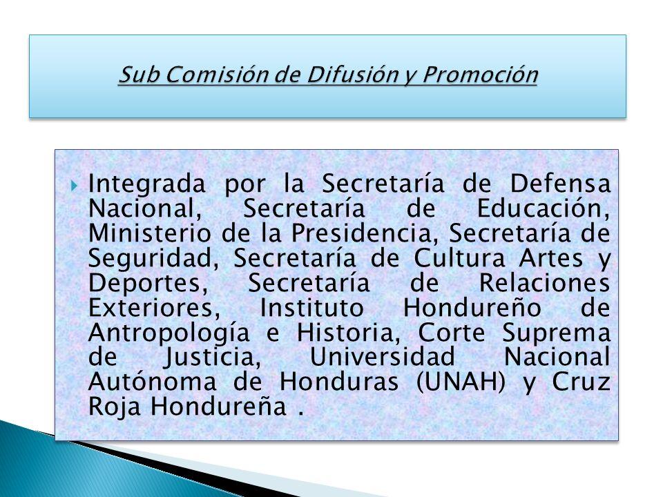 Sub Comisión de Difusión y Promoción