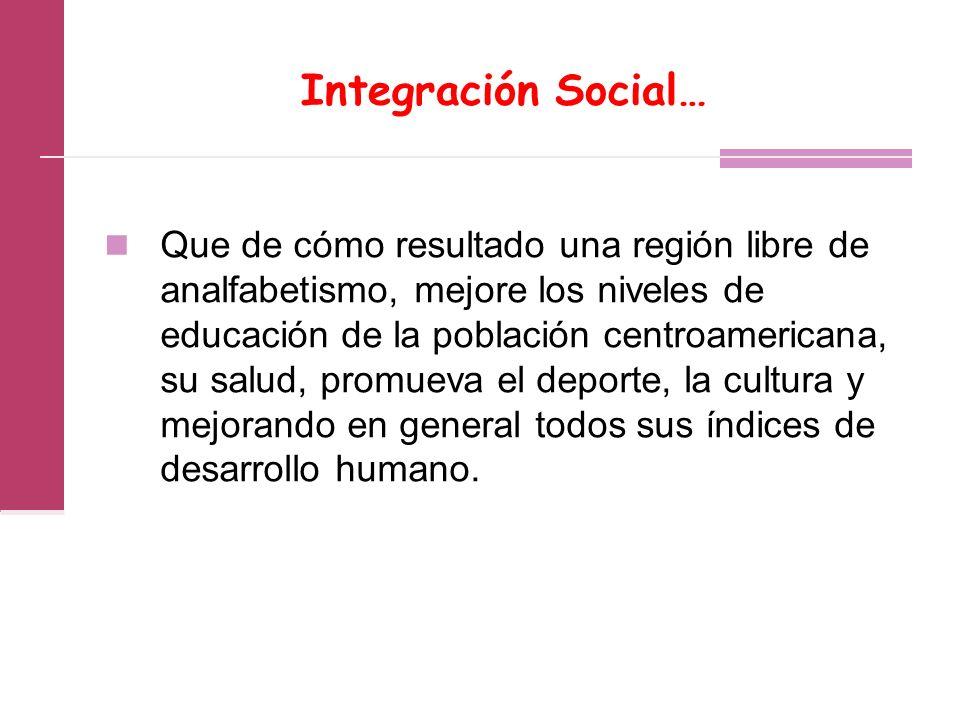 Integración Social…