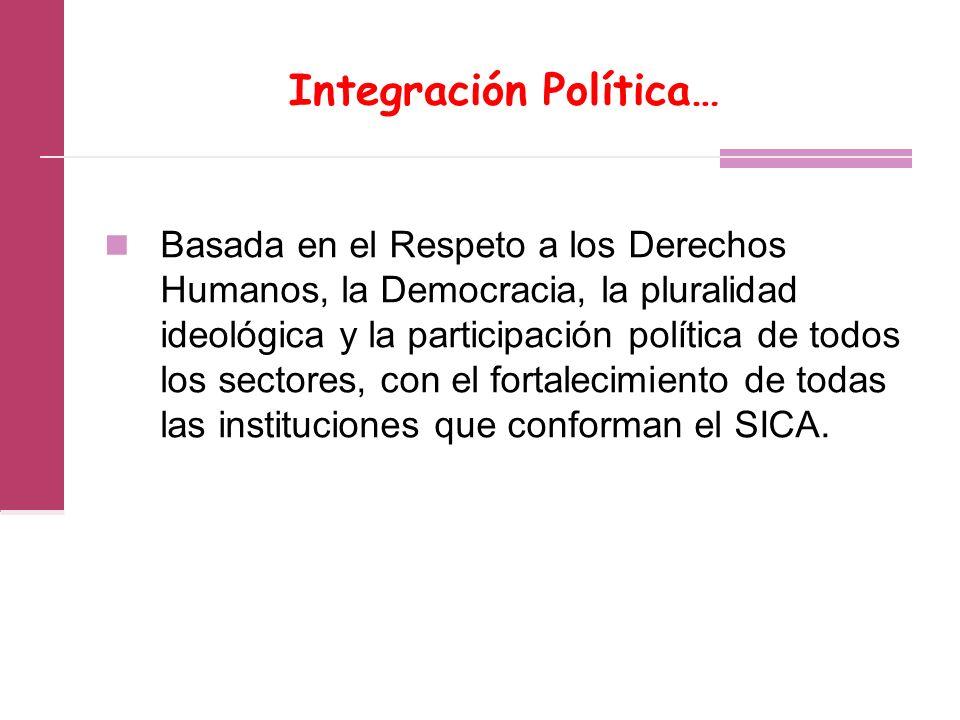 Integración Política…
