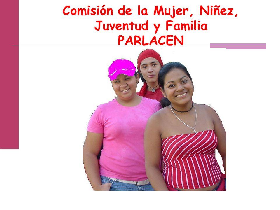Comisión de la Mujer, Niñez, Juventud y Familia PARLACEN