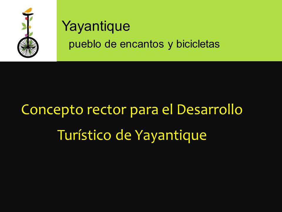 Concepto rector para el Desarrollo Turístico de Yayantique