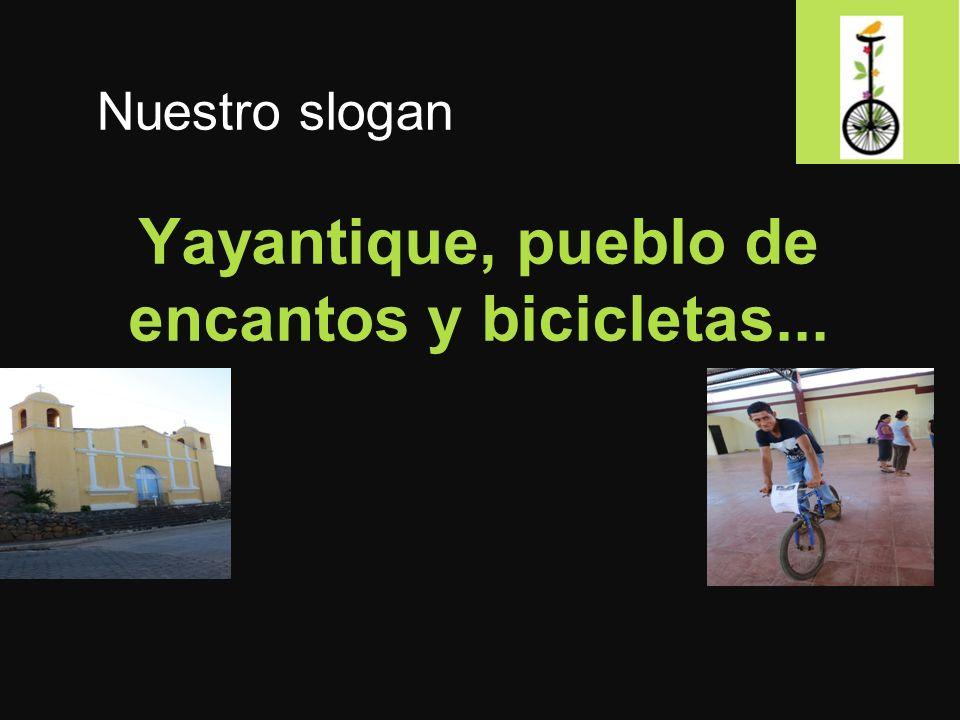 Yayantique, pueblo de encantos y bicicletas...