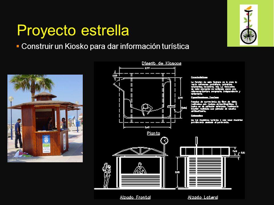 Proyecto estrella Construir un Kiosko para dar información turística