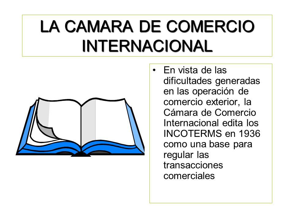 LA CAMARA DE COMERCIO INTERNACIONAL