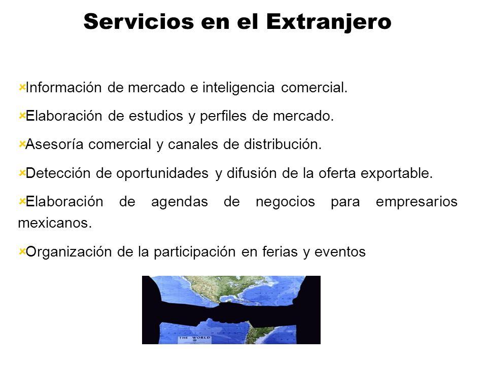 Servicios en el Extranjero