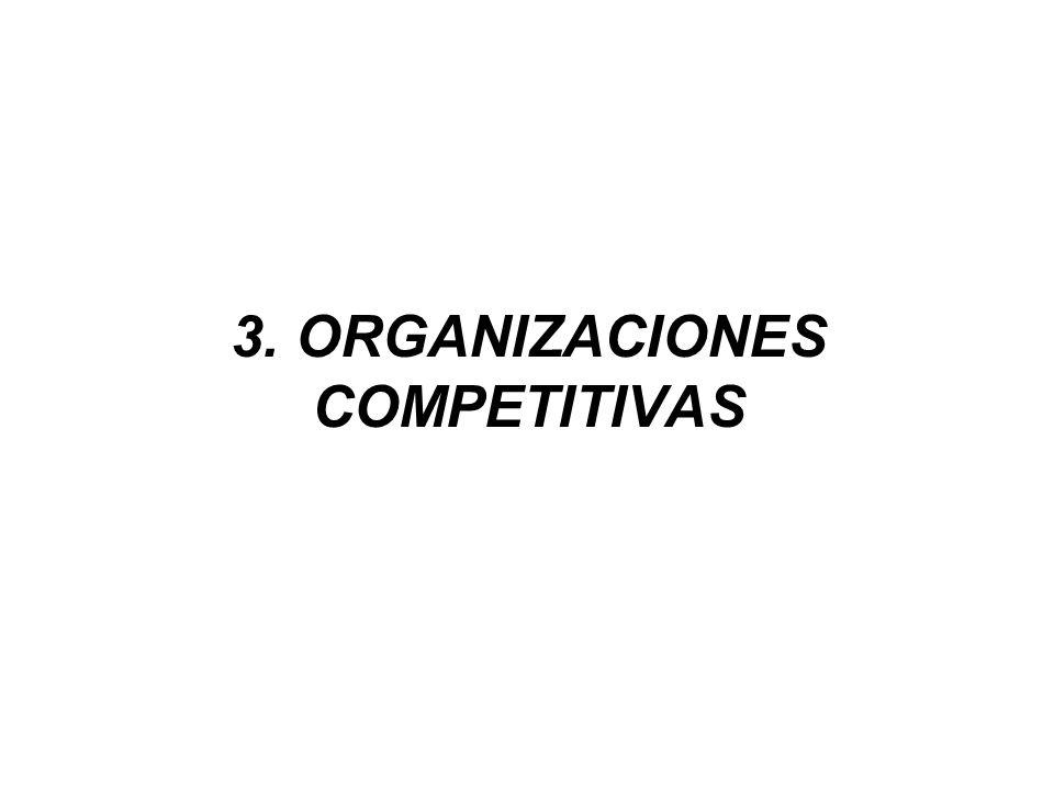 3. ORGANIZACIONES COMPETITIVAS