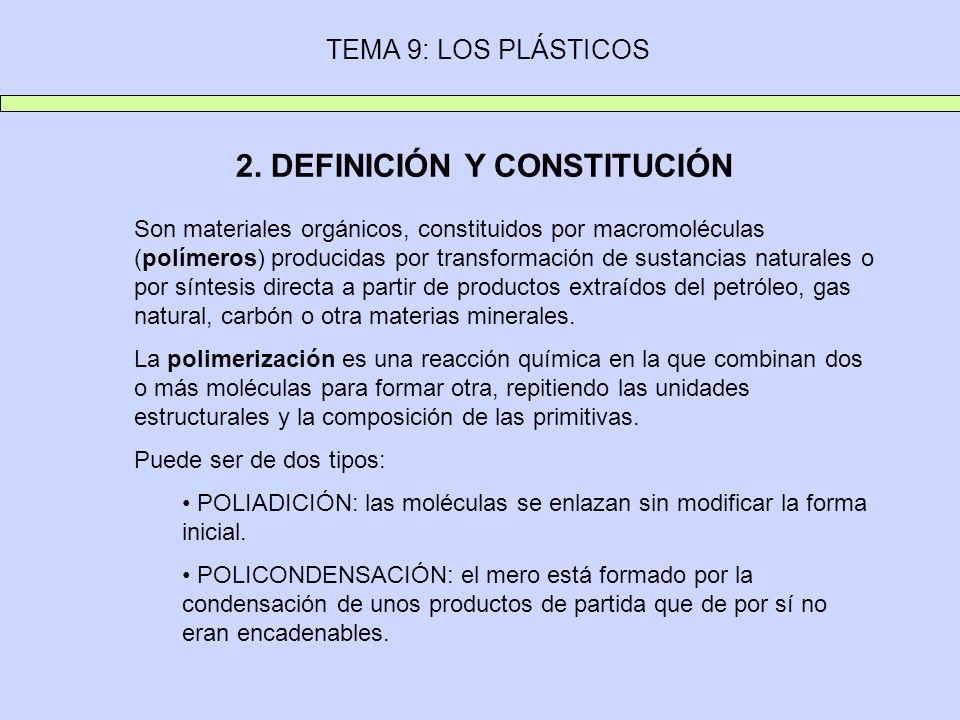 2. DEFINICIÓN Y CONSTITUCIÓN