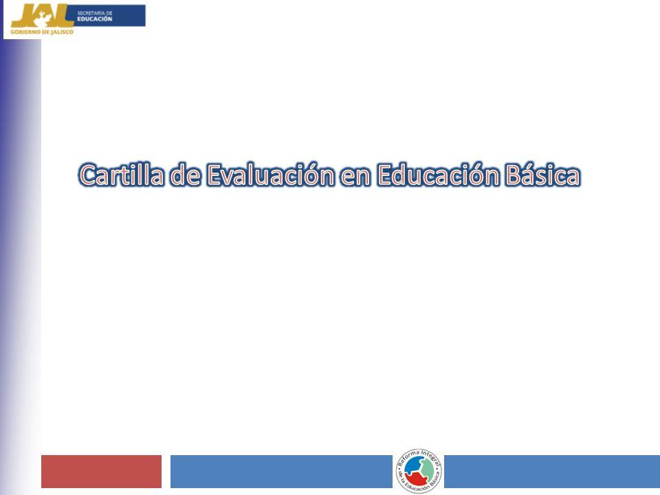 Cartilla de Evaluación en Educación Básica