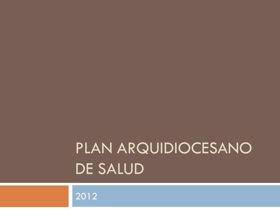 PLAN ARQUIDIOCESANO DE SALUD