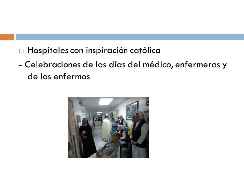 Hospitales con inspiración católica