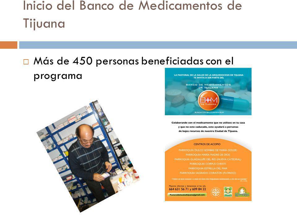Inicio del Banco de Medicamentos de Tijuana