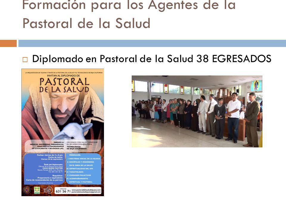 Formación para los Agentes de la Pastoral de la Salud