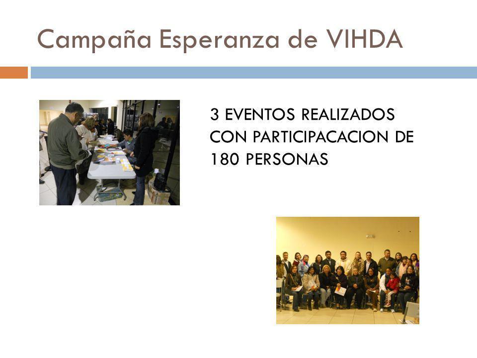 Campaña Esperanza de VIHDA