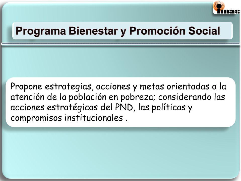 Programa Bienestar y Promoción Social