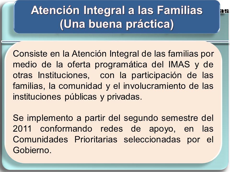 Atención Integral a las Familias (Una buena práctica)
