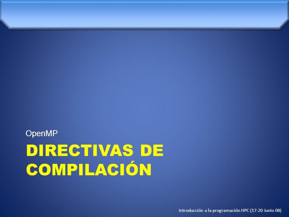 DIRECTIVAS DE COMPILACIÓN