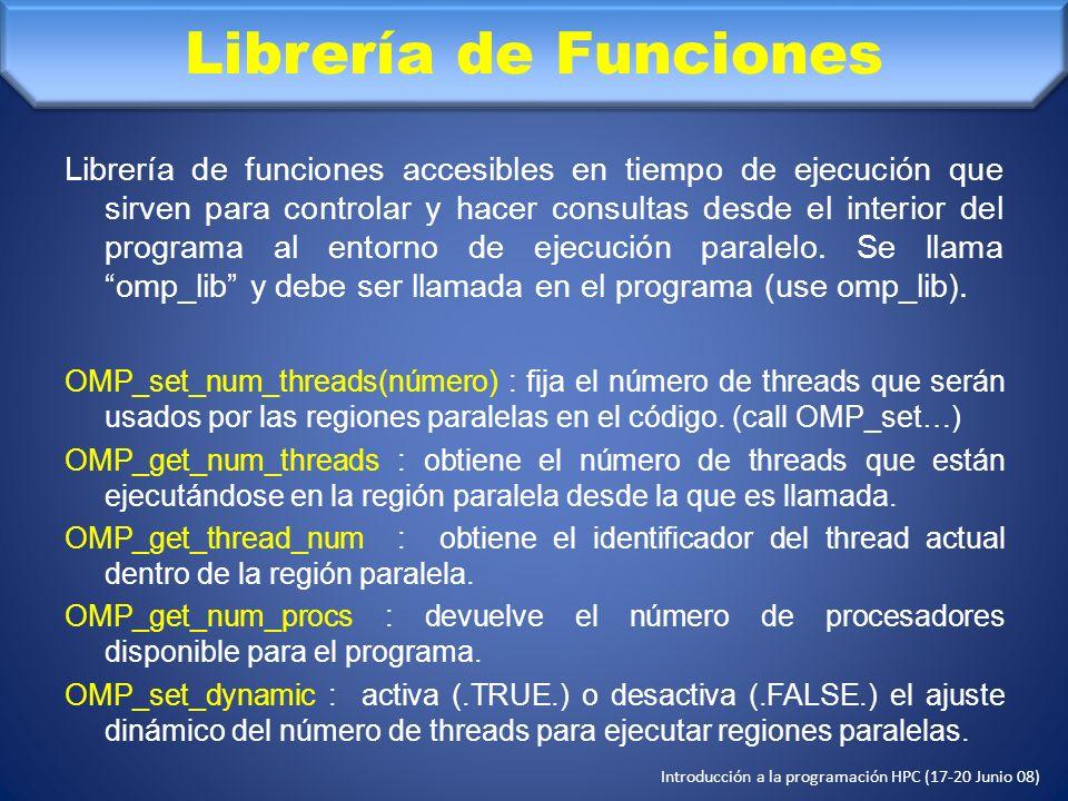 Librería de Funciones