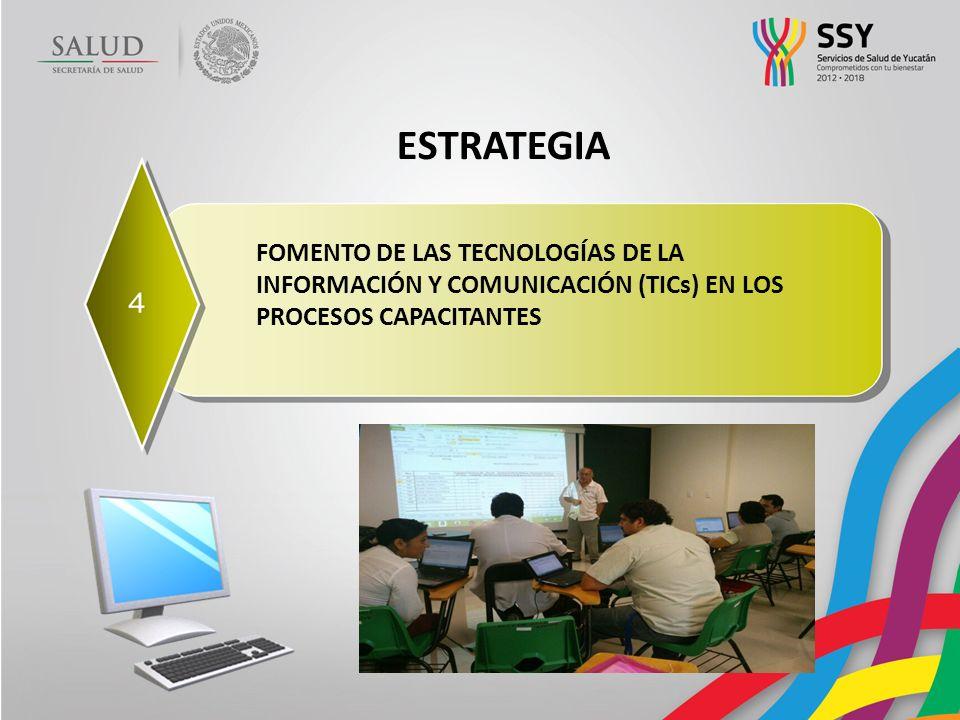 ESTRATEGIA FOMENTO DE LAS TECNOLOGÍAS DE LA INFORMACIÓN Y COMUNICACIÓN (TICs) EN LOS PROCESOS CAPACITANTES.