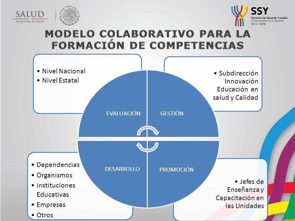 MODELO COLABORATIVO PARA LA FORMACIÓN DE COMPETENCIAS