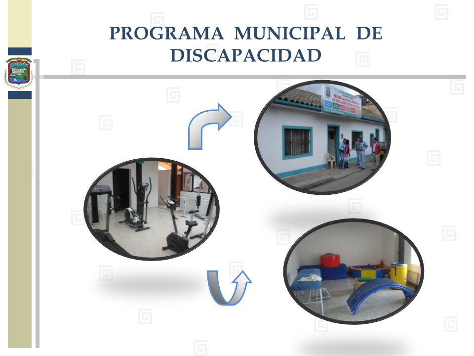 PROGRAMA MUNICIPAL DE DISCAPACIDAD