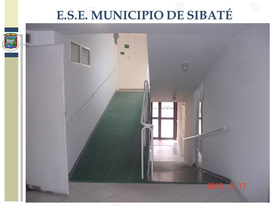 E.S.E. MUNICIPIO DE SIBATÉ