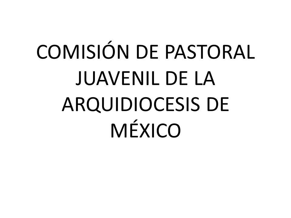 COMISIÓN DE PASTORAL JUAVENIL DE LA ARQUIDIOCESIS DE MÉXICO