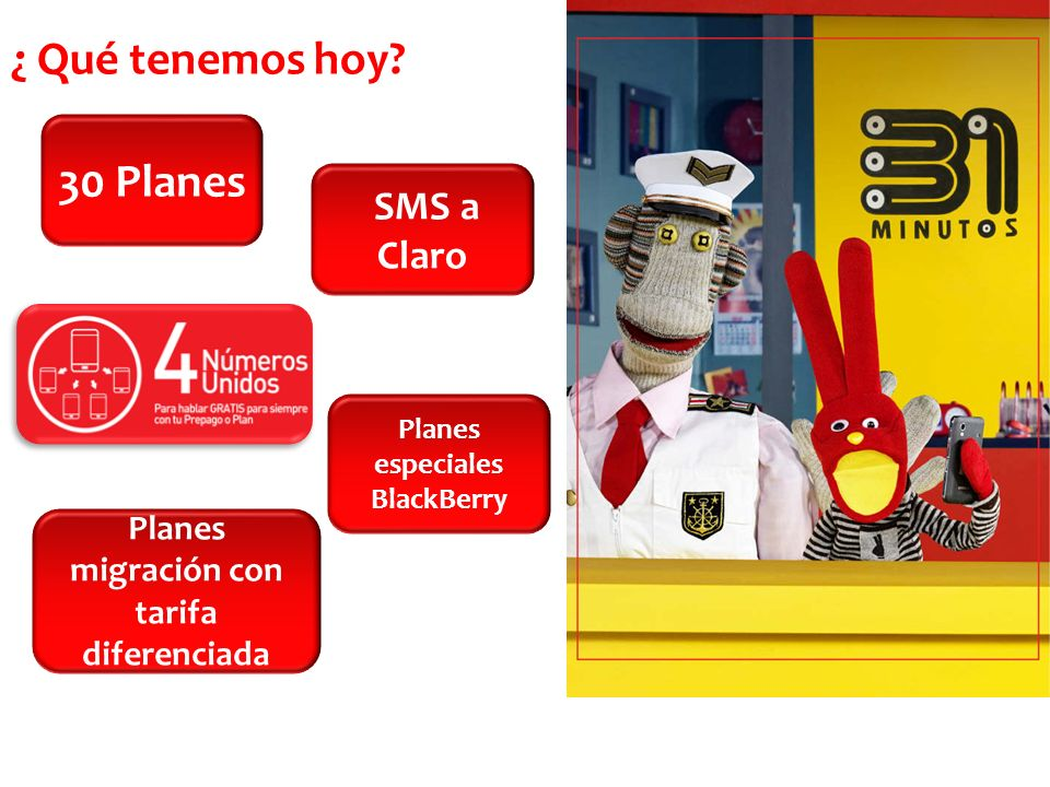 Planes especiales BlackBerry Planes migración con tarifa diferenciada