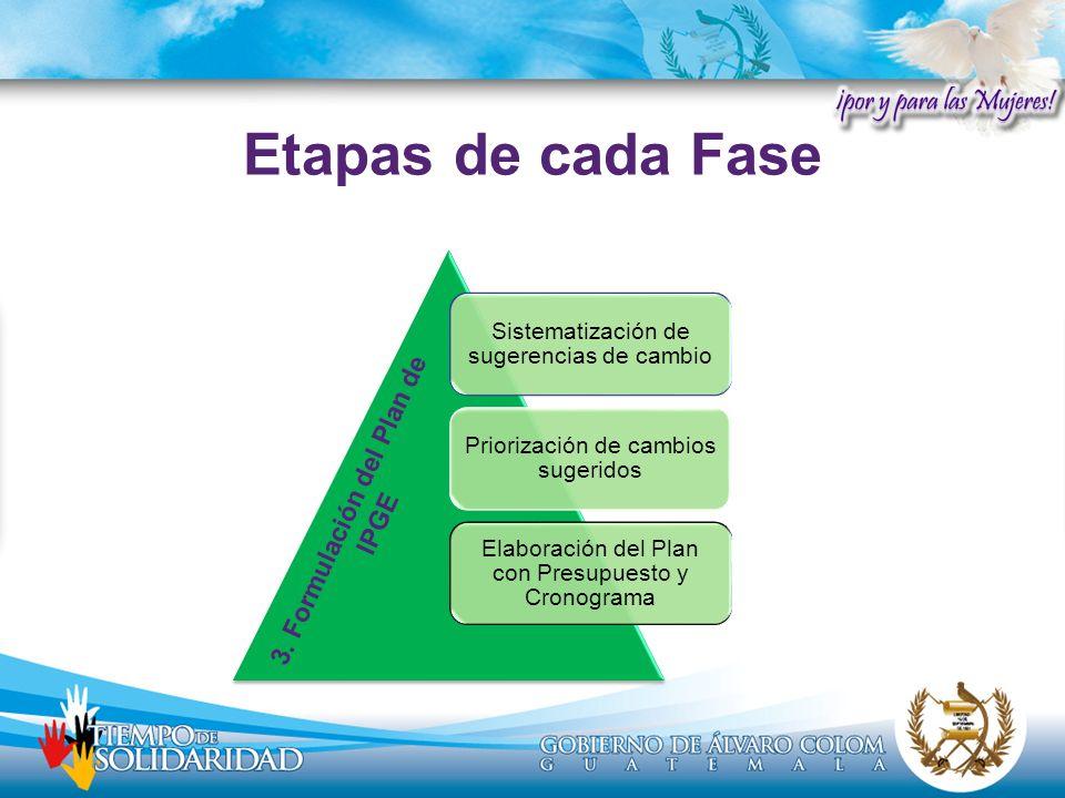 3. Formulación del Plan de IPGE