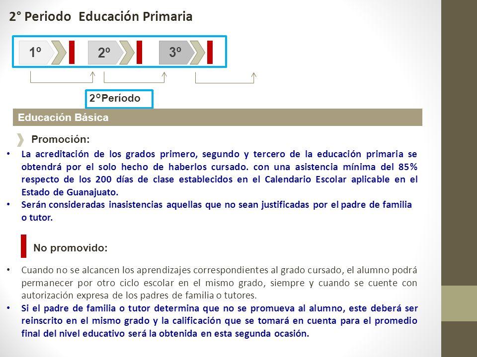2° Periodo Educación Primaria