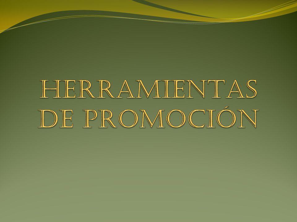 HERRAMIENTAS DE PROMOCIÓN