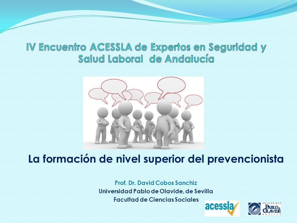 IV Encuentro ACESSLA de Expertos en Seguridad y Salud Laboral de Andalucía
