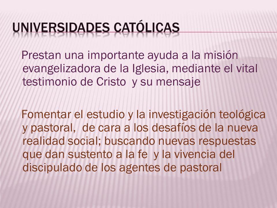 Universidades católicas