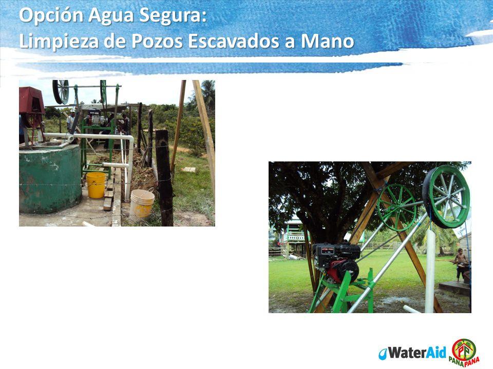 Opción Agua Segura: Limpieza de Pozos Escavados a Mano