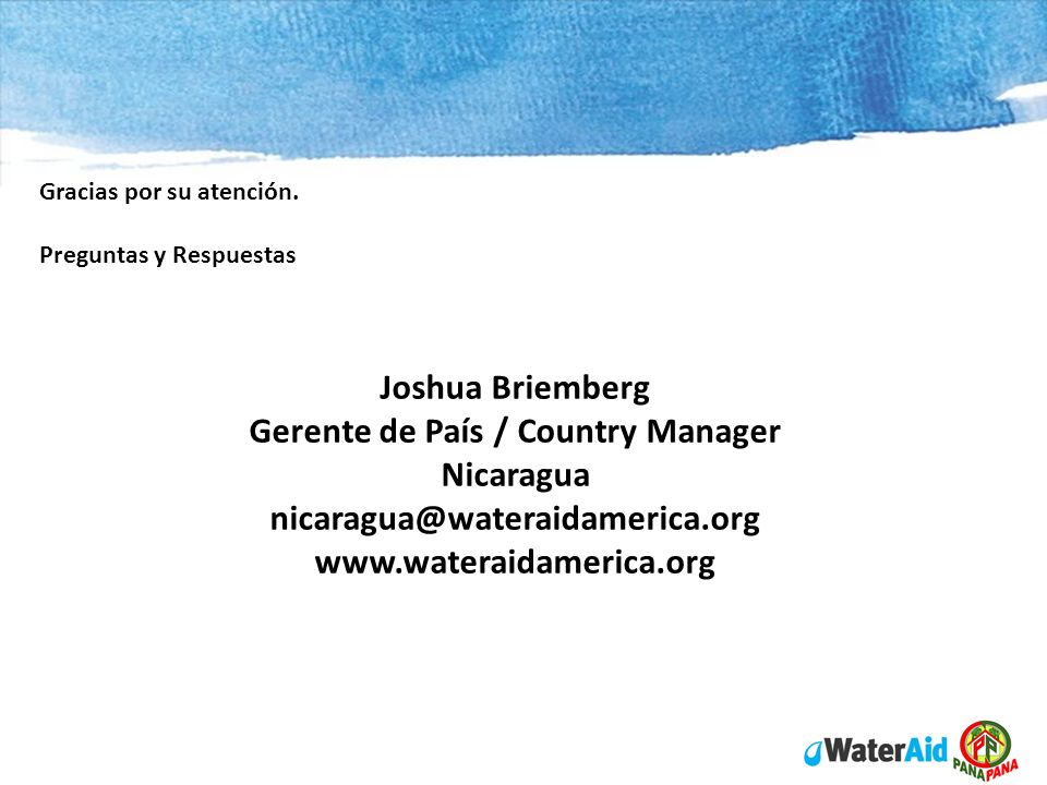 Joshua Briemberg Gerente de País / Country Manager