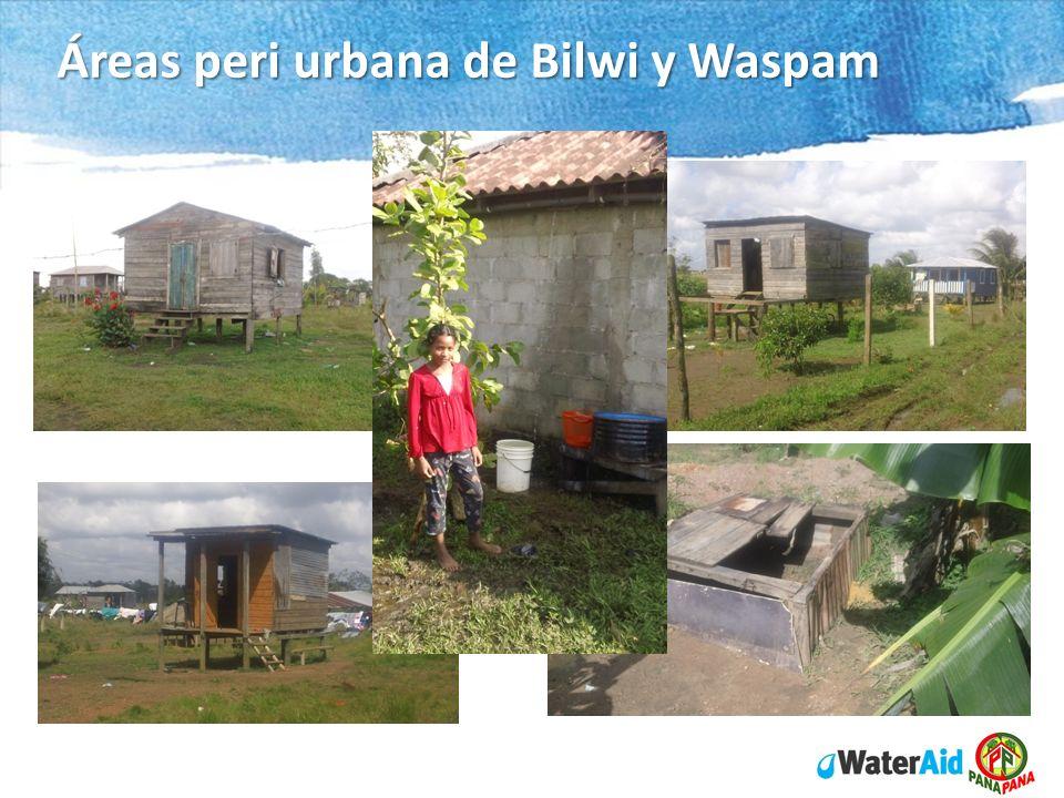 Áreas peri urbana de Bilwi y Waspam