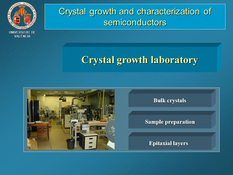 Crystal growth laboratory