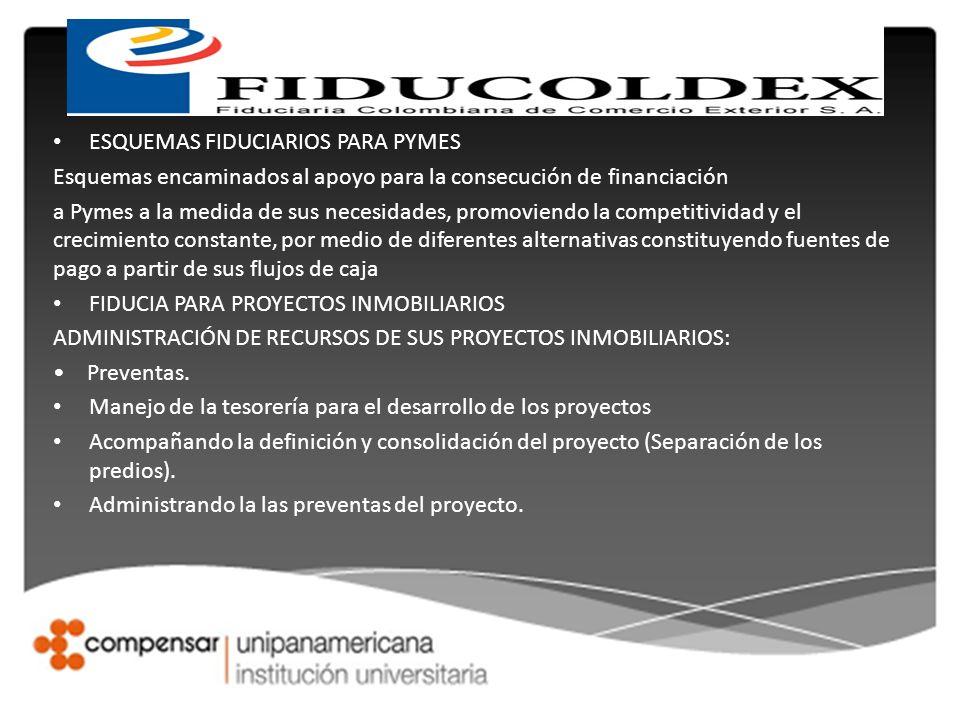 ESQUEMAS FIDUCIARIOS PARA PYMES