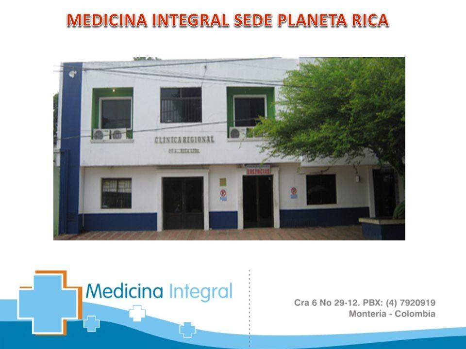 MEDICINA INTEGRAL SEDE PLANETA RICA