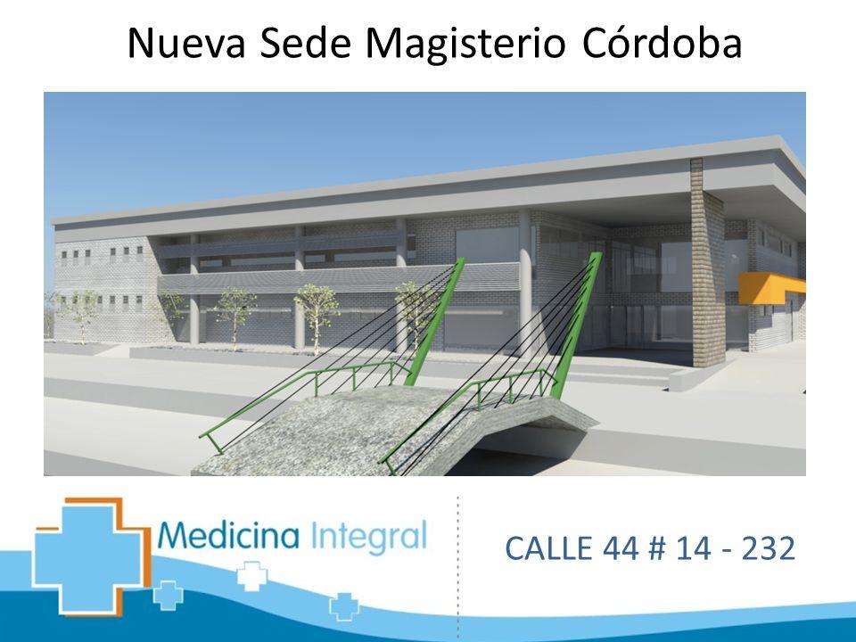 Nueva Sede Magisterio Córdoba