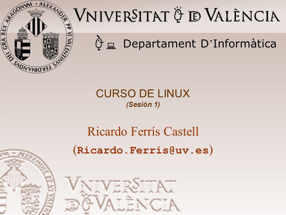 Ricardo Ferrís Castell (Ricardo.Ferris@uv.es)