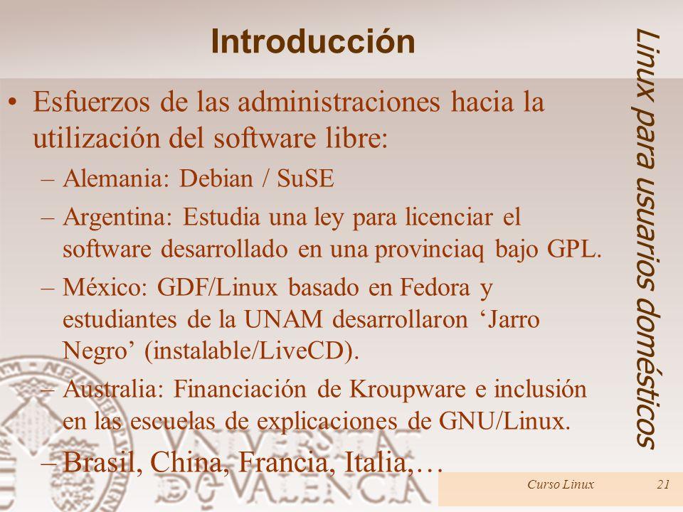 Introducción Linux para usuarios domésticos