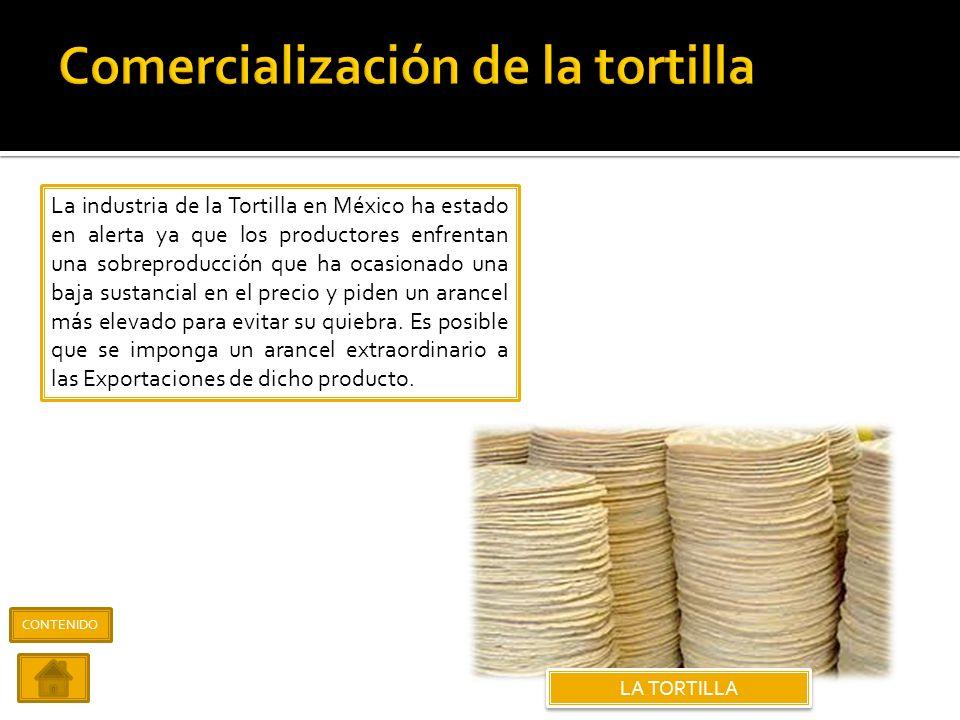 Comercialización de la tortilla
