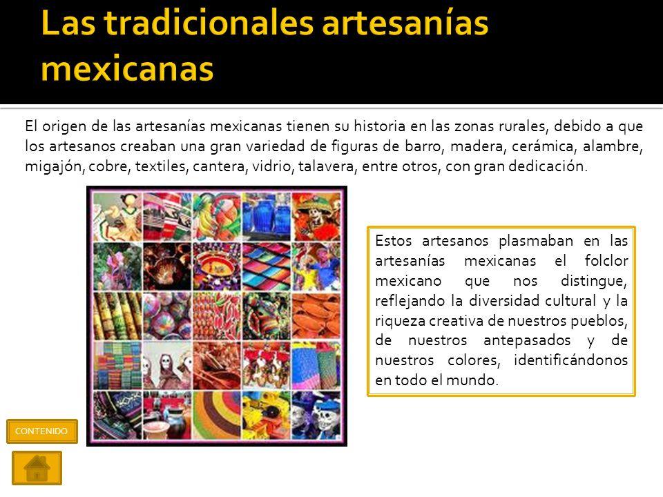 Las tradicionales artesanías mexicanas