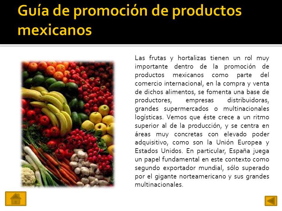Guía de promoción de productos mexicanos