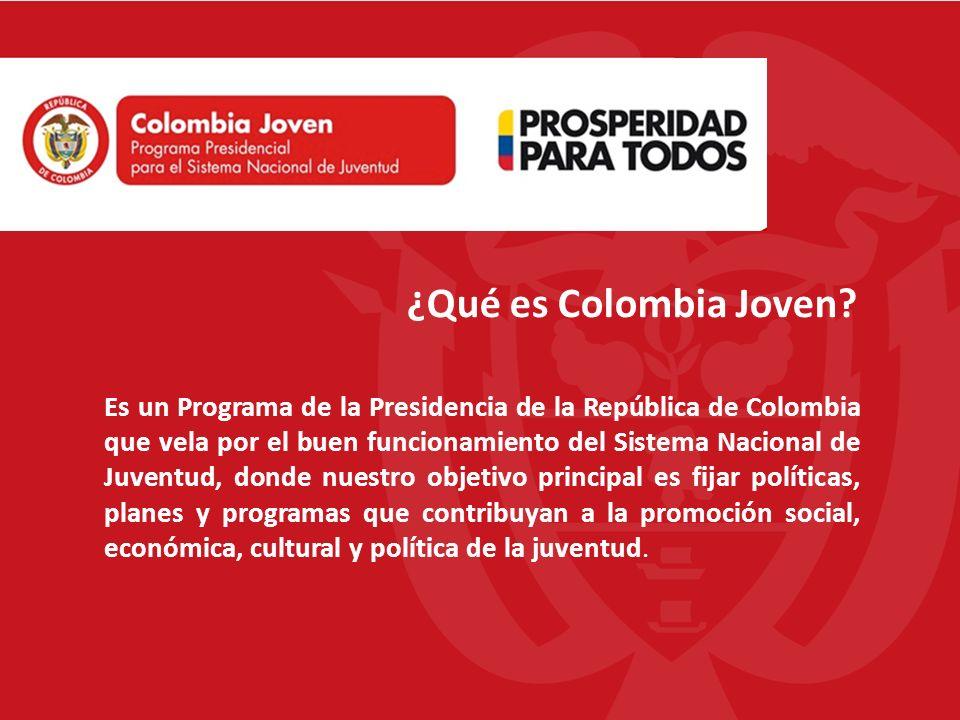¿Qué es Colombia Joven