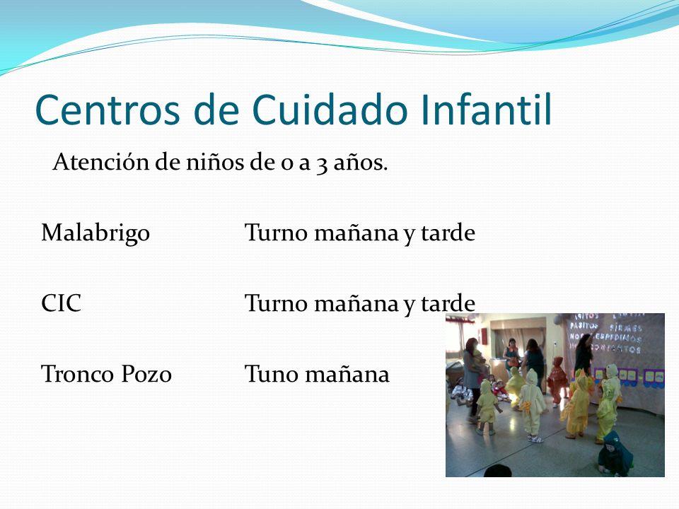 Centros de Cuidado Infantil