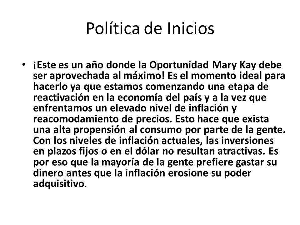 Política de Inicios
